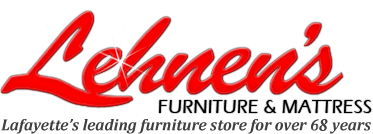 Lehnen's Furniture & Mattress Logo